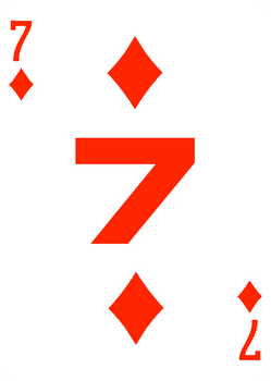 7 Of Diamonds