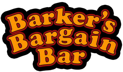 Barker's Bargain Bar logo