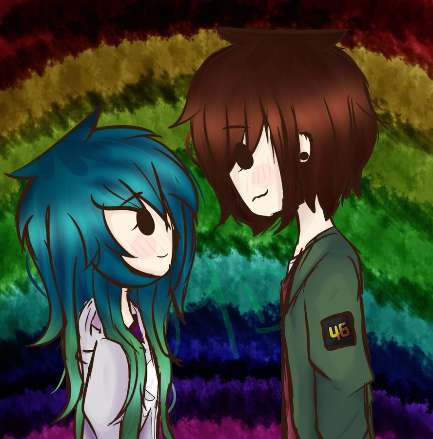 Rainbow Of My Life by MewDraws