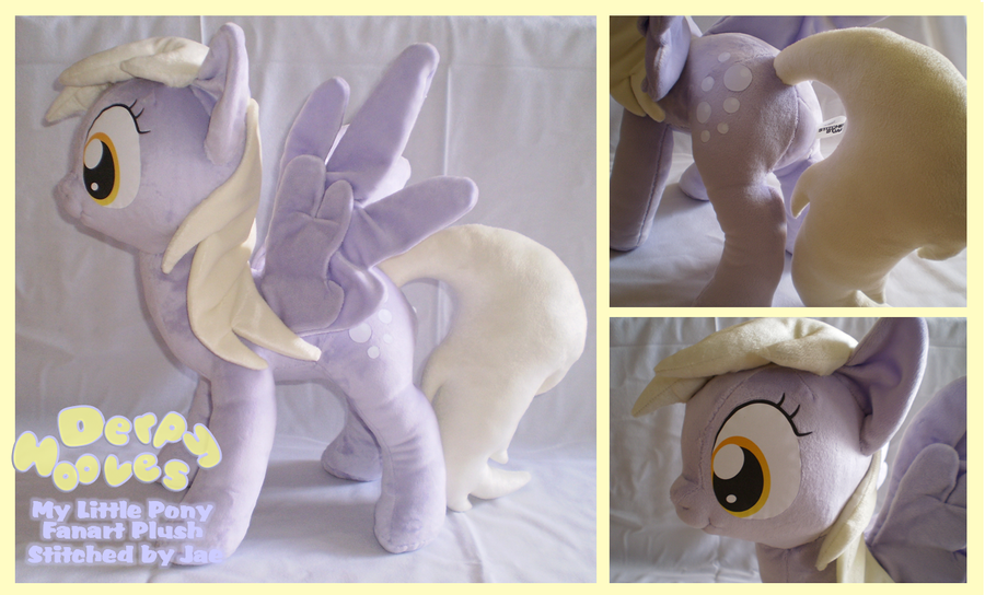 MLP FiM Derpy Hooves Plush by sugarstitch