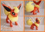 Pokemon Flareon Plush