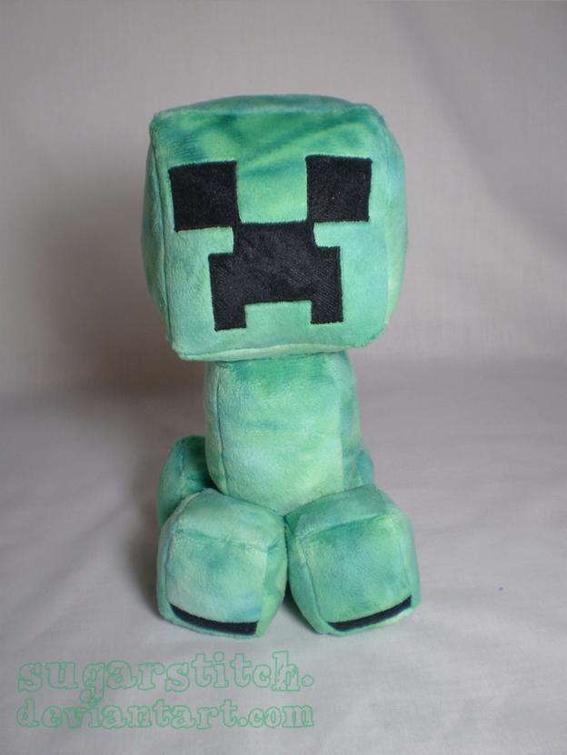 Minecraft: Creeper Plush by sugarstitch