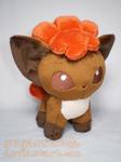 Pokemon: Vulpix Pokedoll Plush