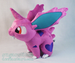Pokemon: Nidoran Male Plush Version Two
