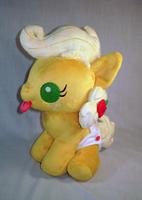 MLP FiM: Baby Applejack Plush by sugarstitch