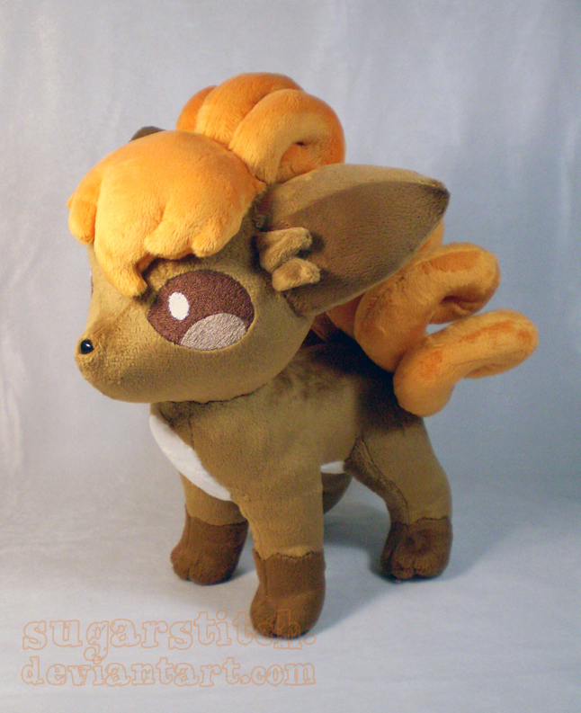 Pokemon: Vulpix Plush Version 2 by sugarstitch