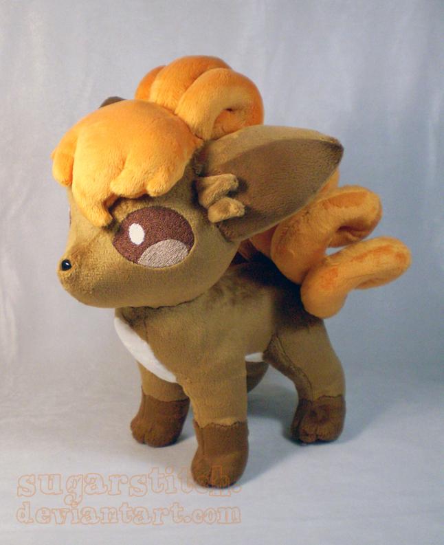 Pokemon: Vulpix Plush Version 2 by sugarstitch