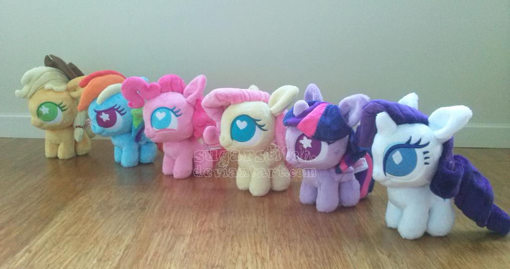 Набор my little pony сверкающий праздник принцесса каденс 8 см.