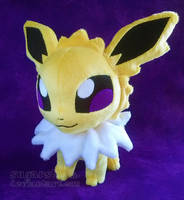 Pokemon: Petit Jolteon by sugarstitch