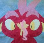MLP FiM: Dragonshy Quilt Square
