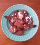 Pokemon: Gingerbread Cookie Plush Keychains