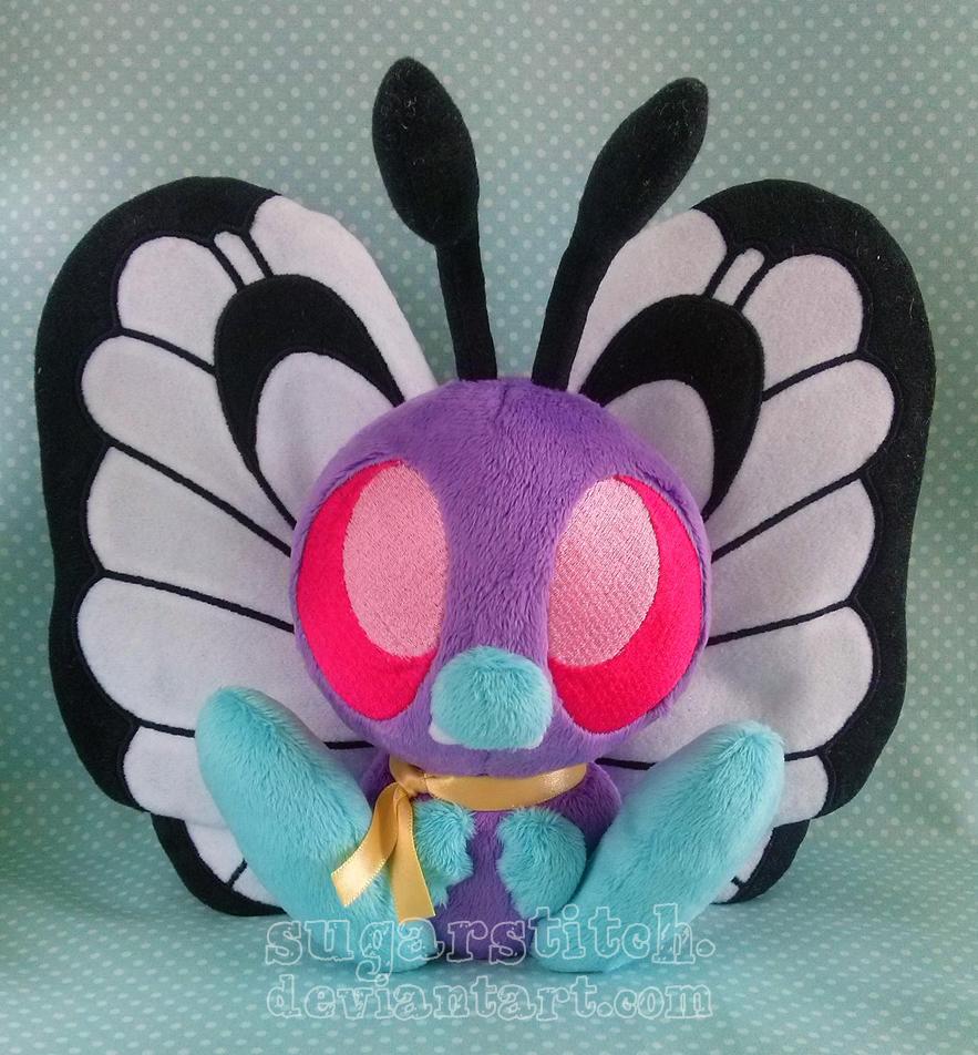 Pokemon: Ash's Butterfree by sugarstitch