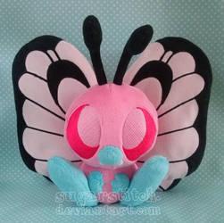 Pokemon: Pink Butterfree by sugarstitch