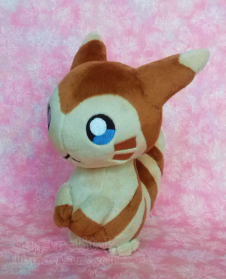 Pokemon: Petit Furret by sugarstitch