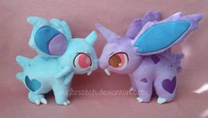 Pokemon: Nidoran Pair Plush