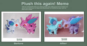 Plush This Again: Nidoran Edition