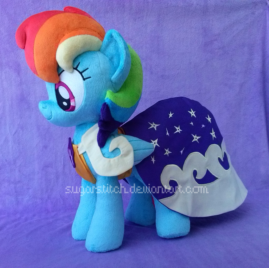 MLP FiM: Gala Rainbow Dash by sugarstitch