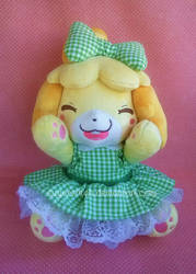 Animal Crossing: OOAK Isabelle by sugarstitch