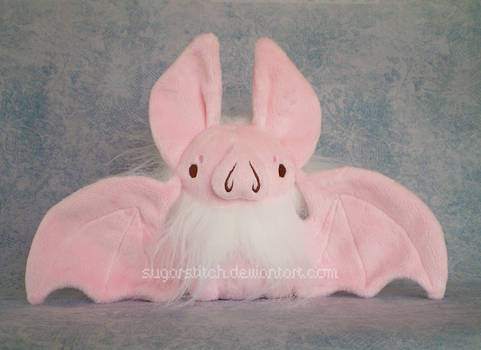 Halloween Exclusive: Fluffy Pastel Bat