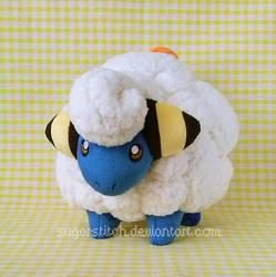 Pokemon: Mareep by sugarstitch