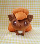 Pokemon: Vulpix Pokedoll V3