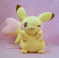 Pokemon: OOAK Sweet Pikachu by sugarstitch