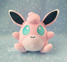 Pokemon: Wigglytuff Mock!Pokedoll by sugarstitch