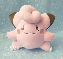 Pokemon: Clefairy by sugarstitch