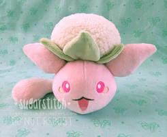 Pokemon: Wataneko (Beta Jumpluff) by sugarstitch