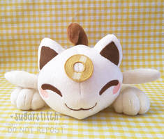 Pokemon: Meowsy (Beta baby Meowth) by sugarstitch
