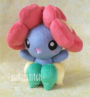 Pokemon: Bellossom Pokedoll Blue Version by sugarstitch