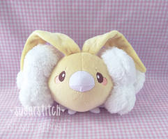 Pokemon: OOAK Shiny Swablu by sugarstitch