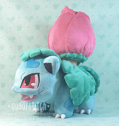 Pokemon: Ivysaur by sugarstitch