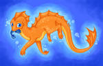 DC: Shallow Water Dragon by Rooncakes