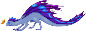 DC: RidgeWing Dragon by Rooncakes