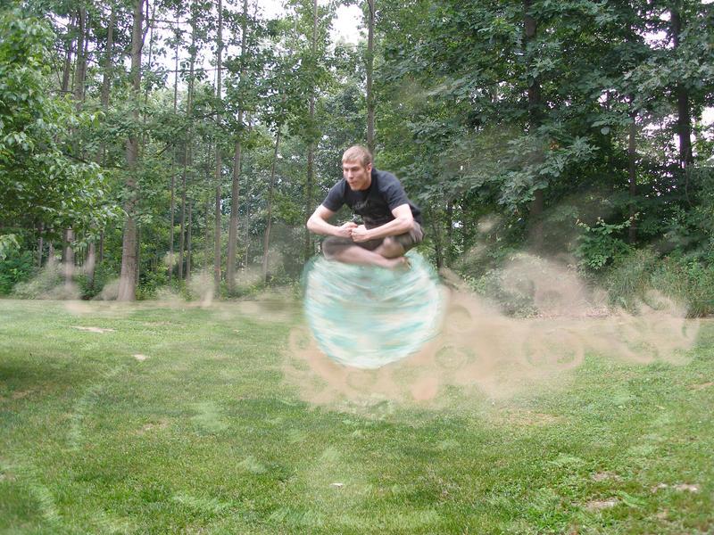 Avatar Airbending Adam by adambomb7