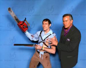 Ash meets Bruce Campbell