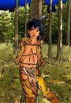 Little Warrior In Trouble