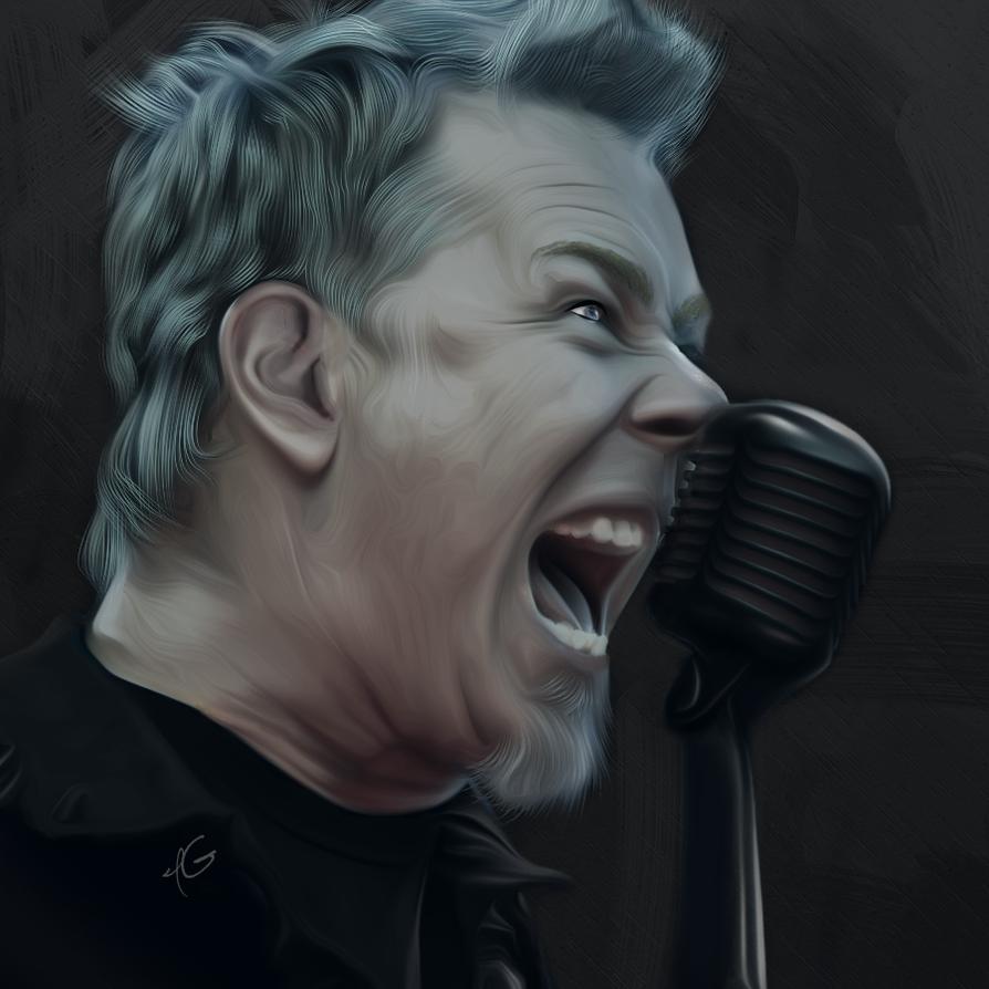 James Hetfield by IGab