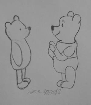 Pooh through the ages.