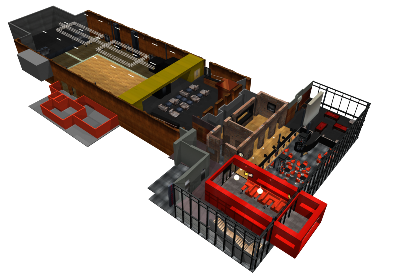 Engine Shed: 3D Visualisation by Garsondee