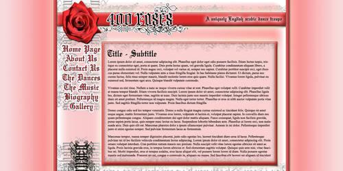 400 Roses Web Design