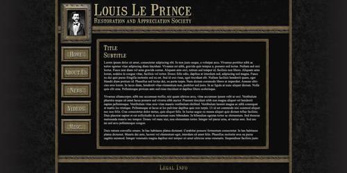 Louis Le Prince Website
