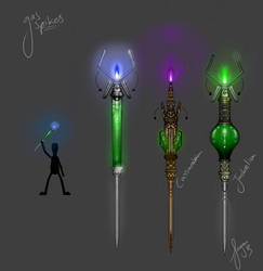 Gas Spike Concept by Garsondee