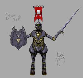 Steam Knight by Garsondee