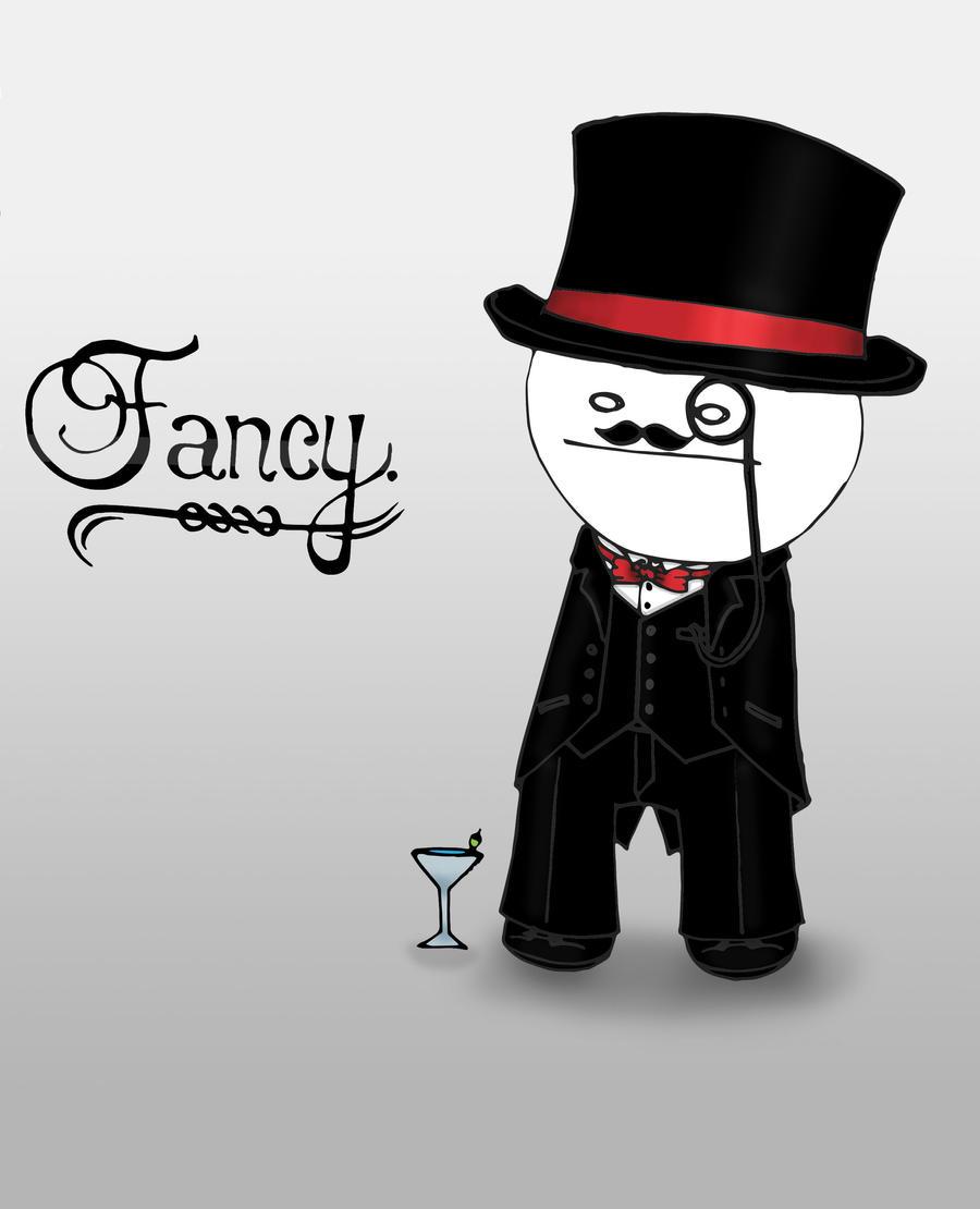 Hmm... Fancy. by SakariYume