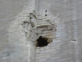 sci-stock - a hole in the wall by sci-fi-stock