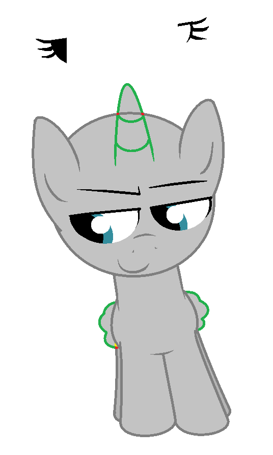 Mlpfim Base Clever Thinking Filly Colt By Pupster0071 On Deviantart