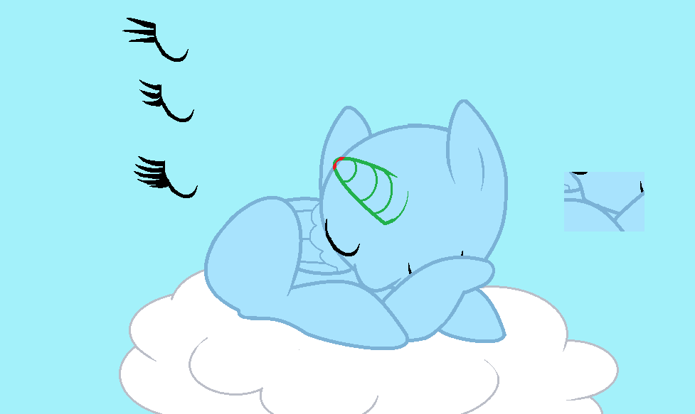 Sleeping On A Cloud By Pupster0071 On DeviantArt