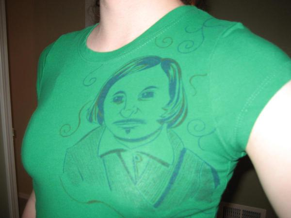 Nikolai Gogol shirt by the-reconquista